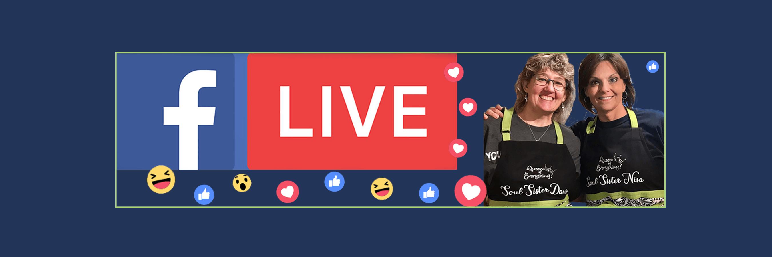 Facebook Live Videos: Meal Planning & Prep
